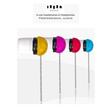 Ecouteurs In Ear Ounuo coloris rouge