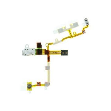 Flex Jack, power, volume, mute for iPhone 3G 3Gs white