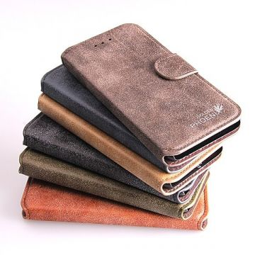 Buckskin Look Portfolio Stand Case iPhone 6