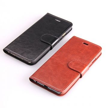 Etui portefeuille simili cuir iPhone 6
