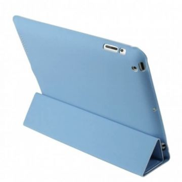 Polyurethane Integral Smart Case New iPad (iPad 3) Blue