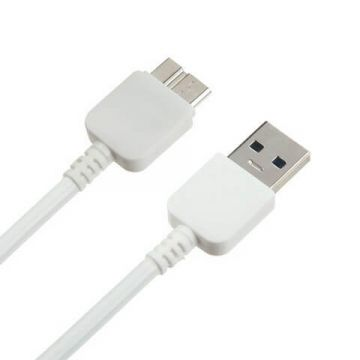 Micro USB 3.0 Cable White for Samsung