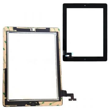 Touch Screen Glass/Digitizer Assembled For iPad 2 Black