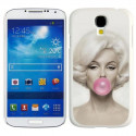 Marilyn Monroe Bubble Gum Hard Case Samsung Galaxy S4