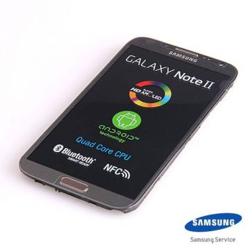 Ecran comple Samsung Galaxy Note 2 gris