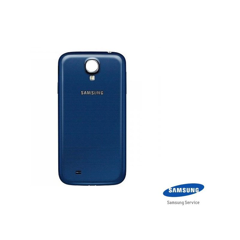 coque arri re de remplacement bleue originale samsung galaxy s4 macmaniack. Black Bedroom Furniture Sets. Home Design Ideas