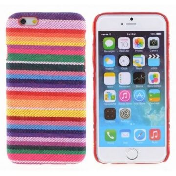 Coated Peruvian patterned hard cover case for iPhone 6 Plus