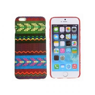 Coated Bolivian patterned hard cover case for iPhone 6 Plus