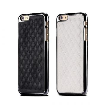 Padded imitation iPhone 6 Plus leather hard case