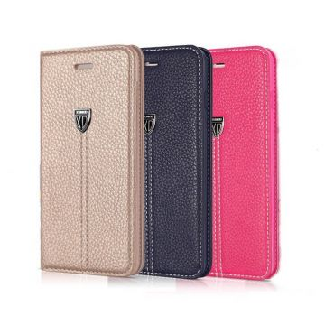 Leather look portfolio XUNDD iPhone 6 Plus stand case