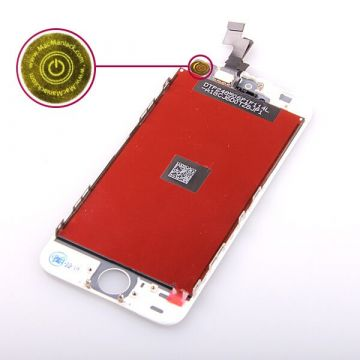 1st Quality Glass digitizer and LCD Retina Screen for iPhone 5S White